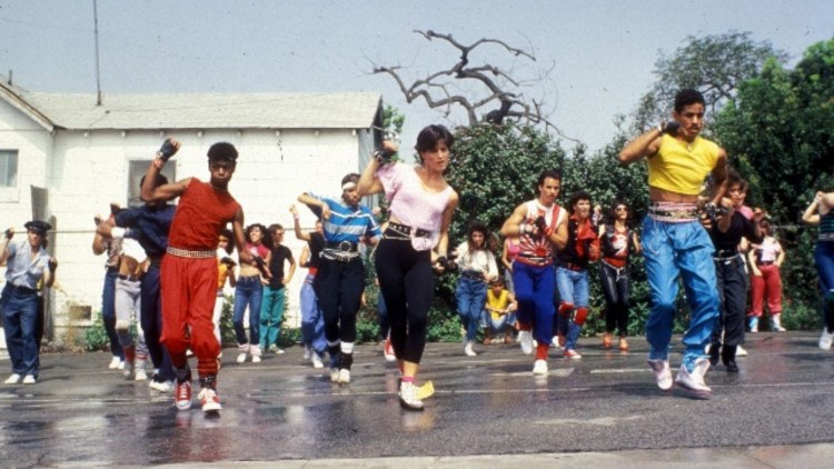 Breakin' (1984) Directed by Joel Silberg Shown from left: Michael 'Bugaloo Shrimp' Chambers (as Turbo), Lucinda Dickey (as Kelly), Adolfo 'Shabba Doo' Quinones (as Ozone)